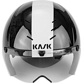 Kask Mistral Casco, black/white